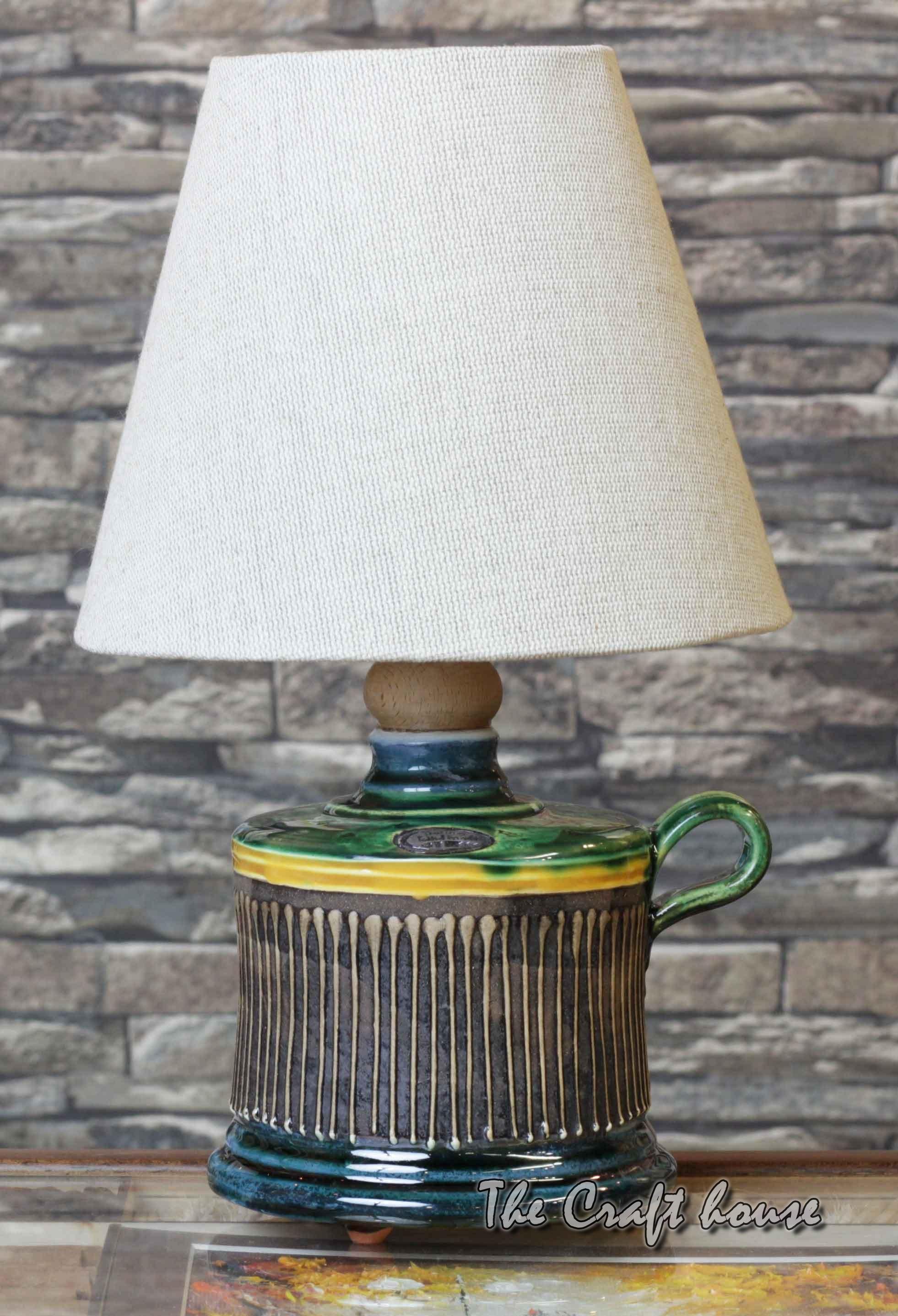 Art ceramic lamp
