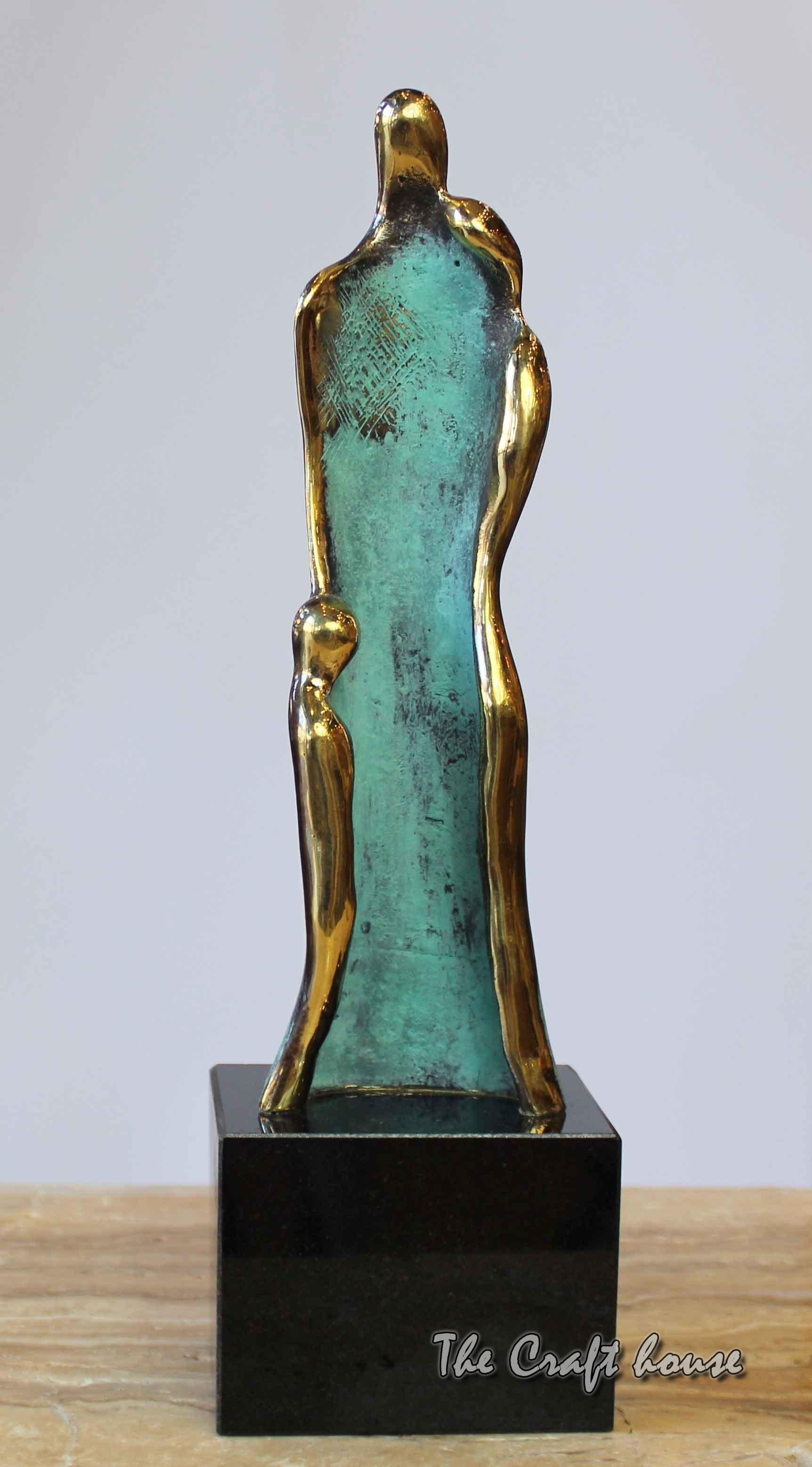 Bronze sculpture 'Touch'