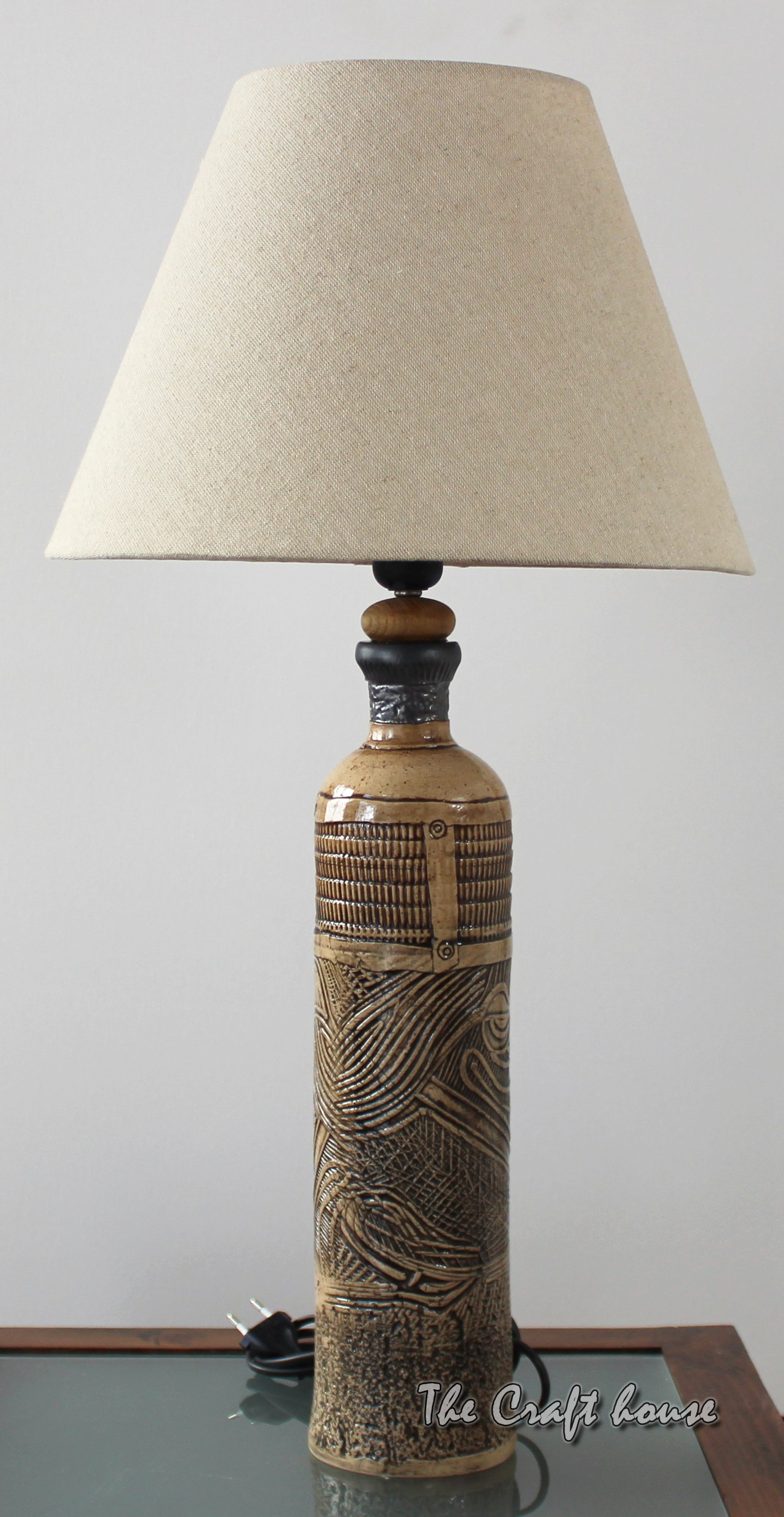 Ceramic lamp 'Art'