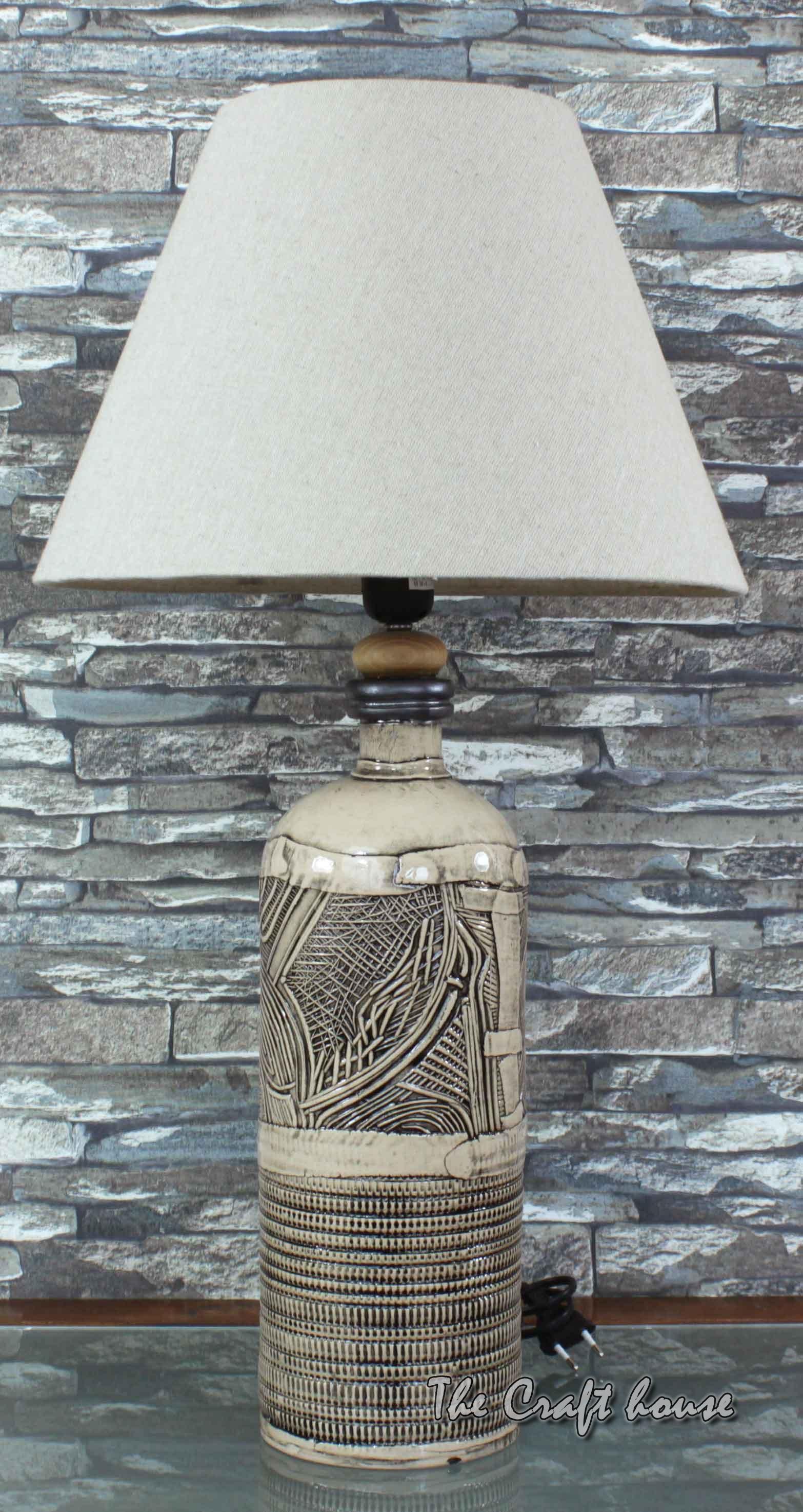 Ceramic art lamp