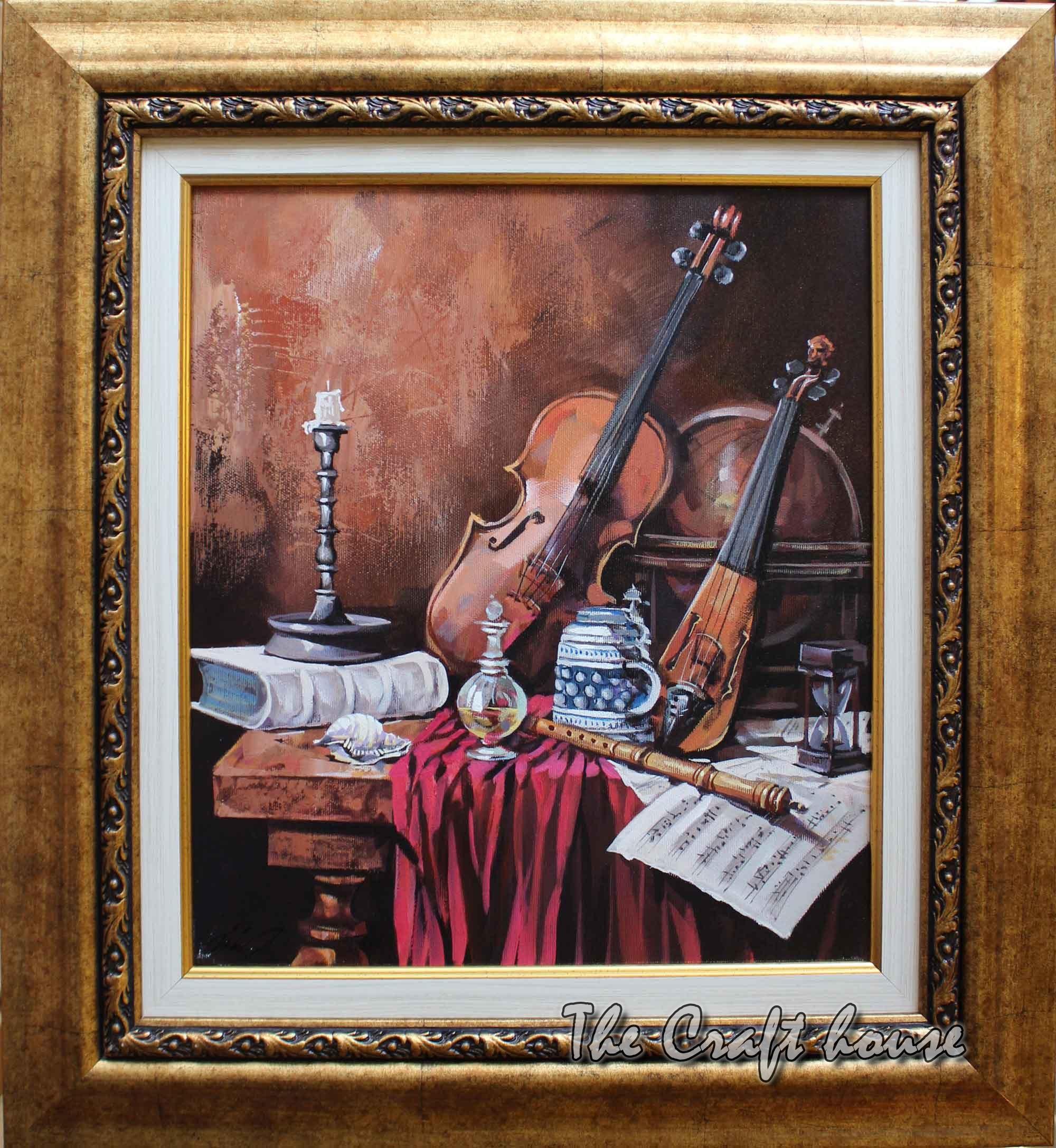 Still life 'Music'