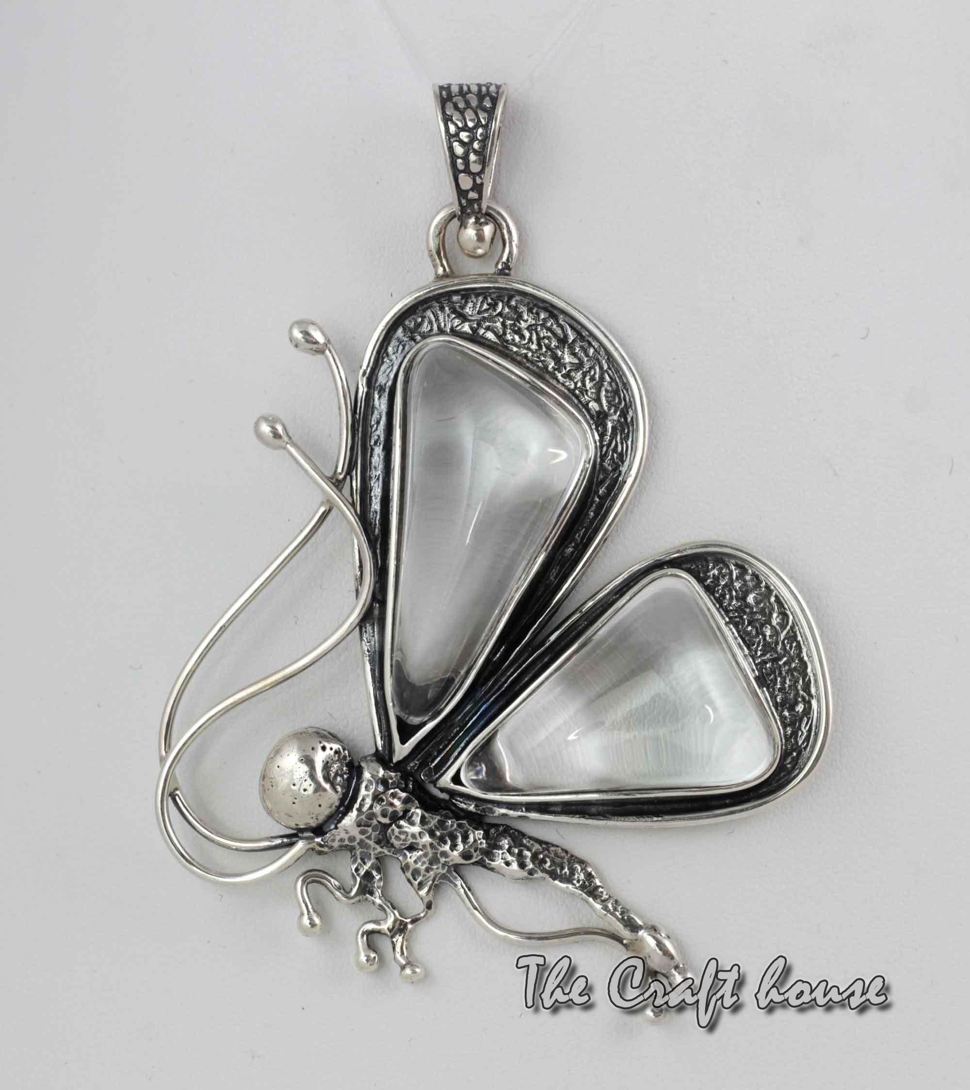 Silver pendant 'Butterfly'