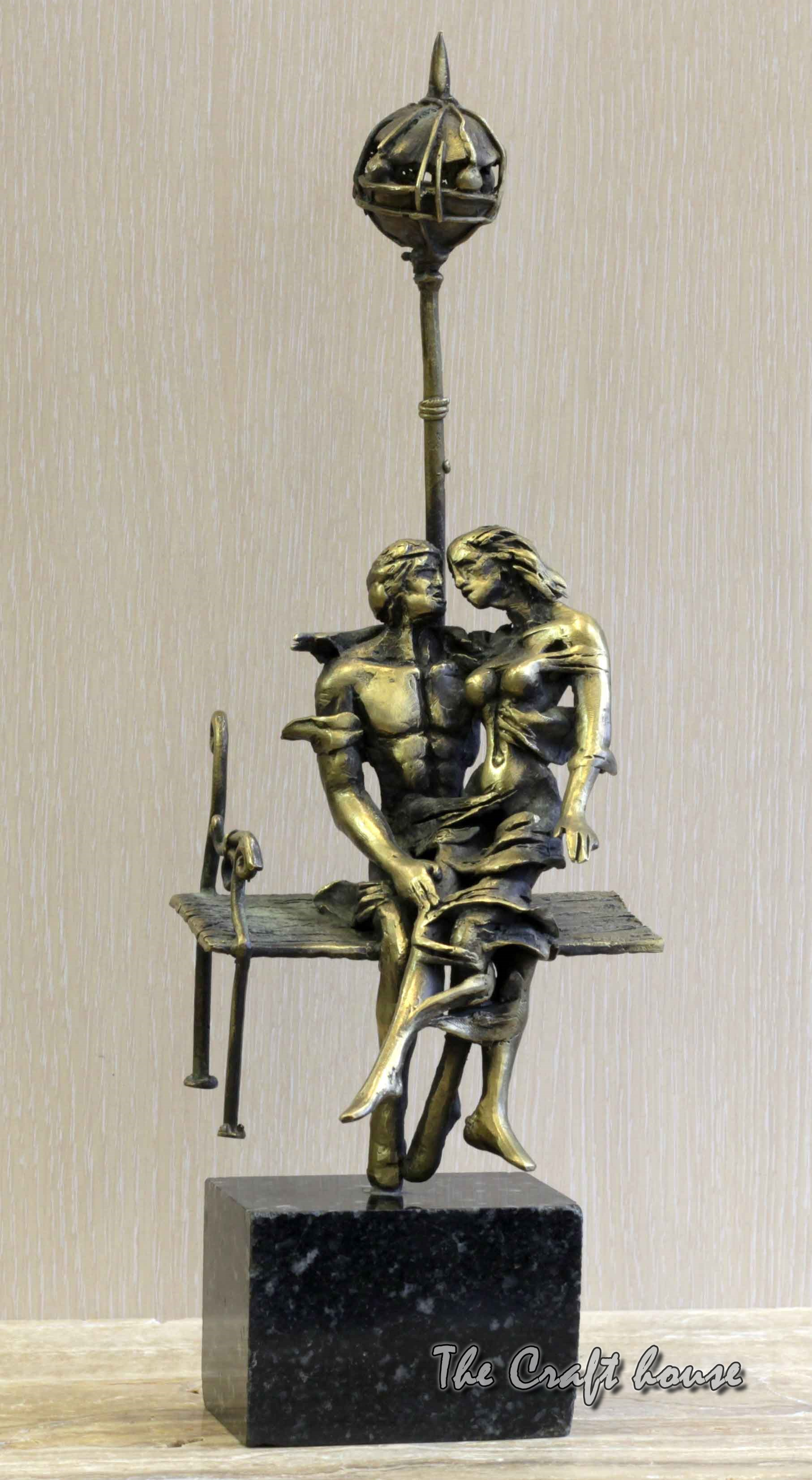 Bronze sculpture 'Couple'