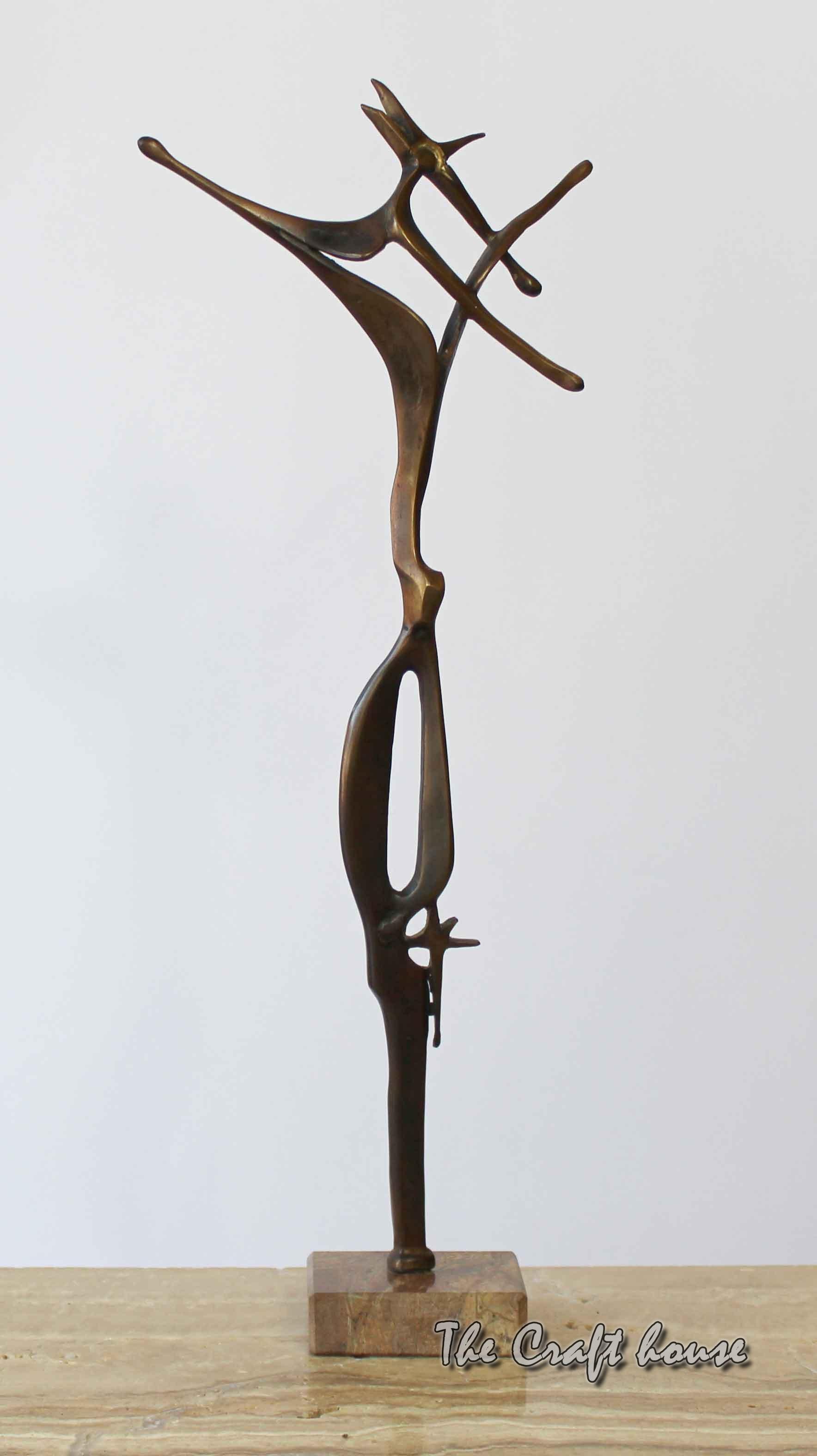 Bronze sculpture 'Directions'