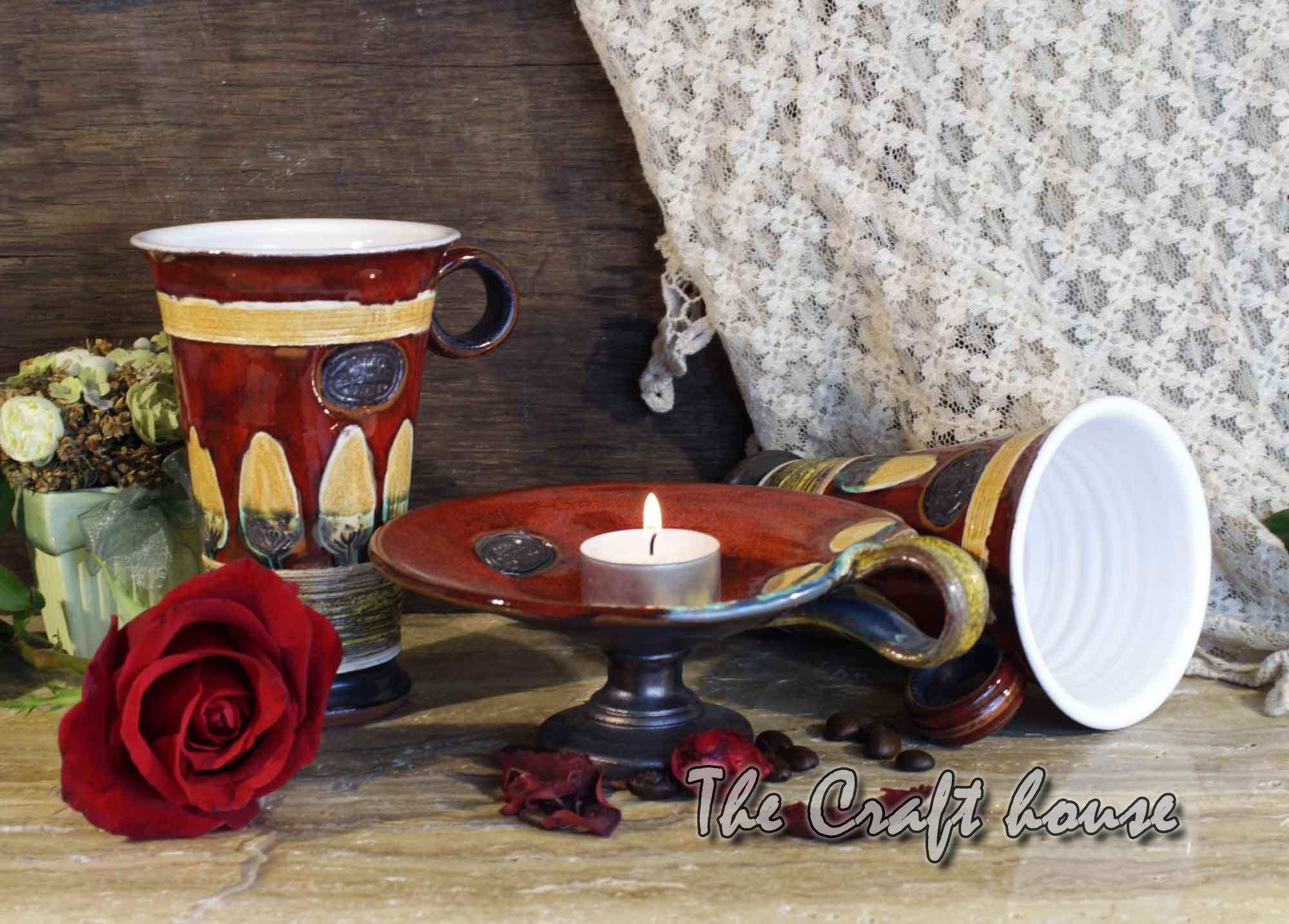 Керамичен комплект за чай
