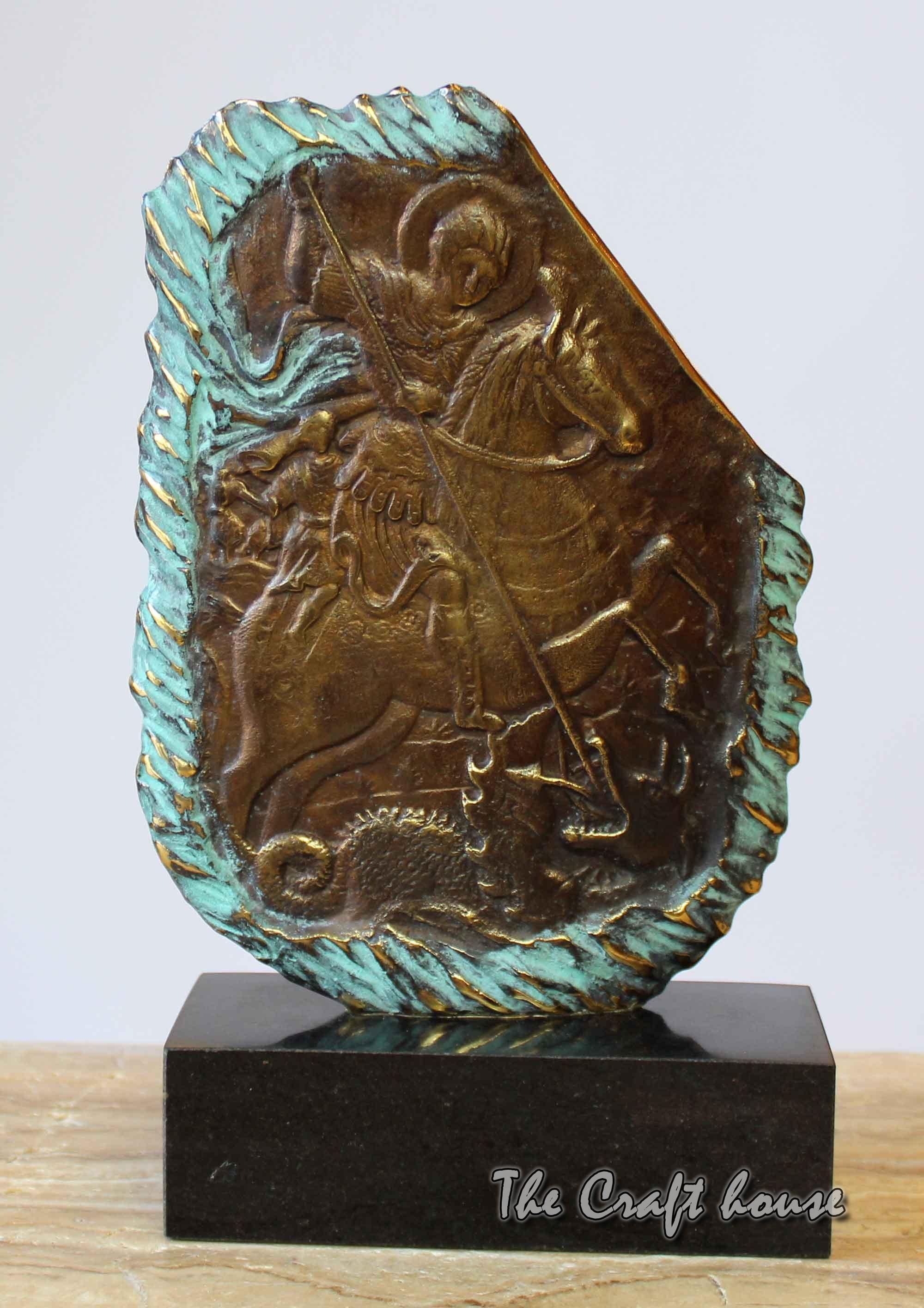 Bronze sculpture 'St. George'