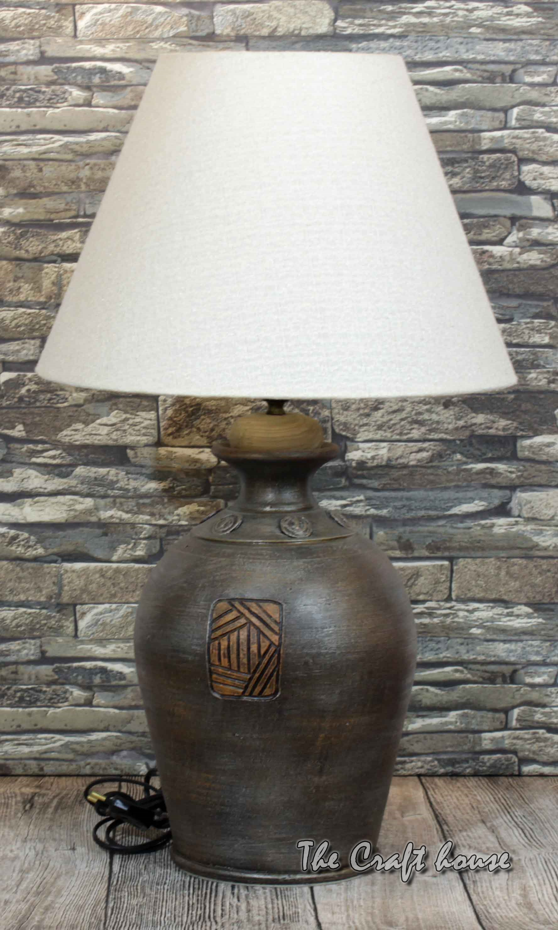 Ceramic art lamp
