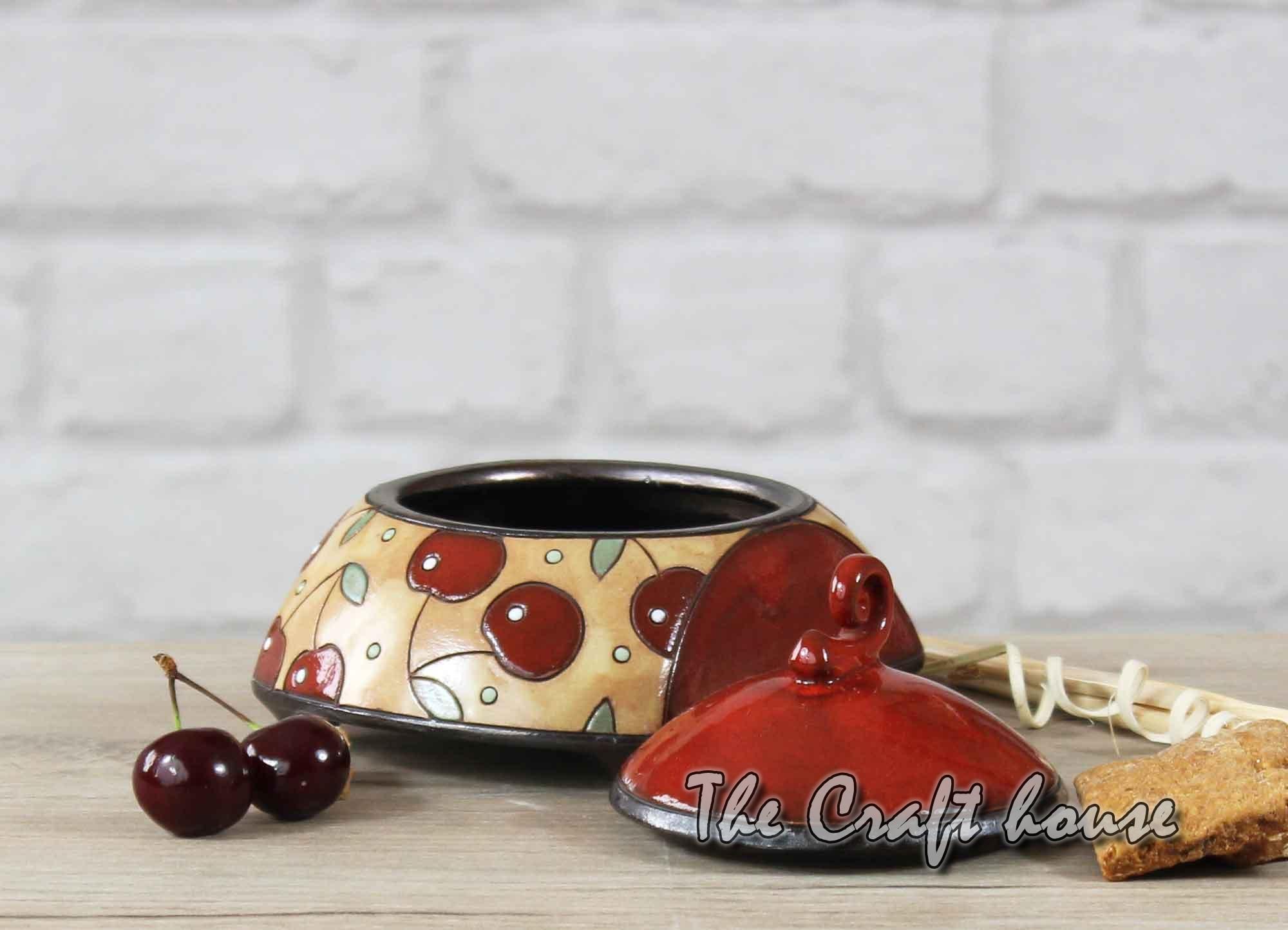 Ceramic sugar bowl