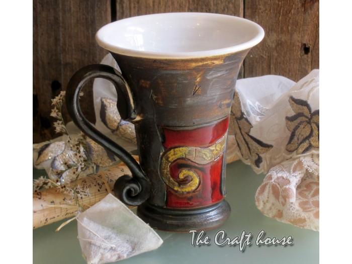 Чаша за чай с декорация