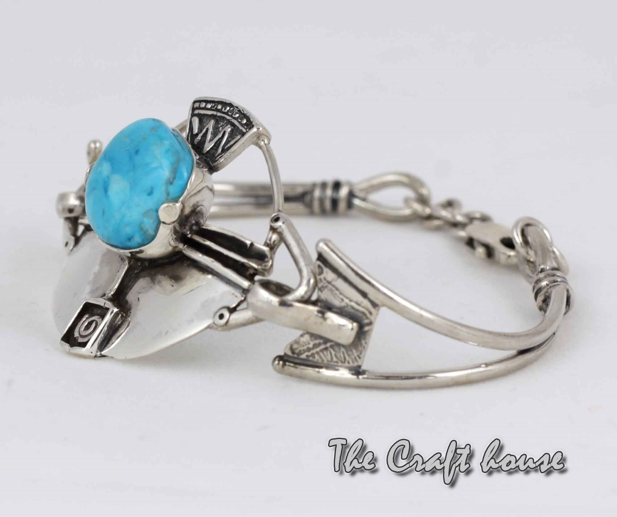 Silver bracelets with Turquoise