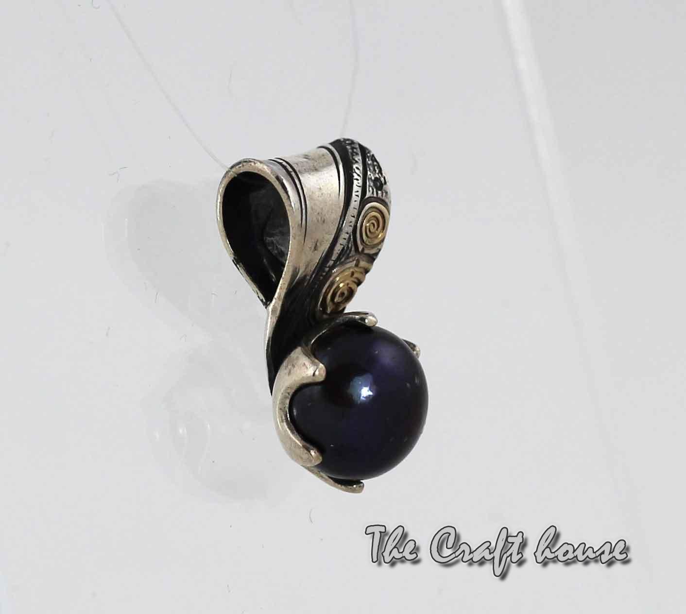 Silver necklace 'Rosetta'