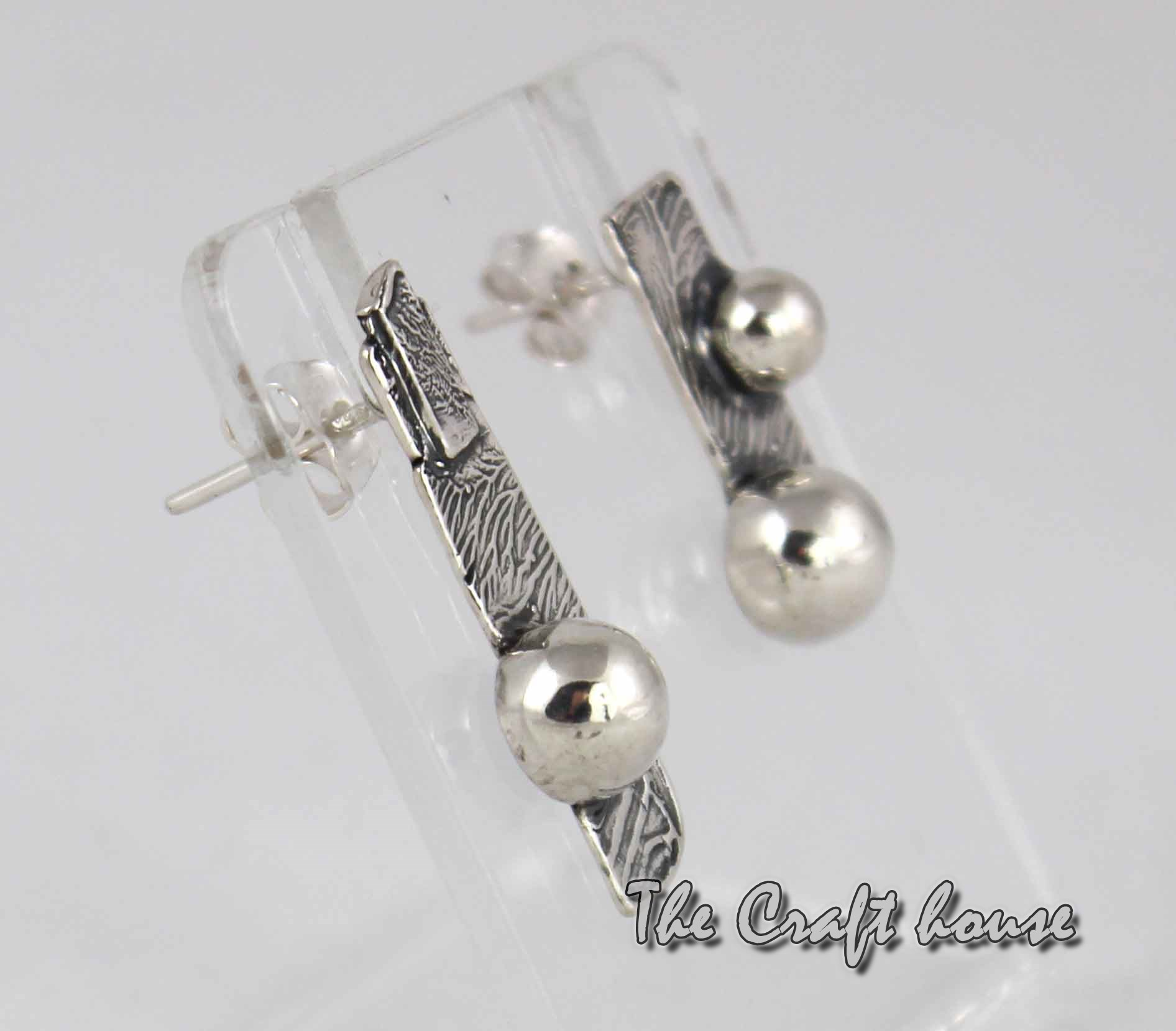 Silver aerrings