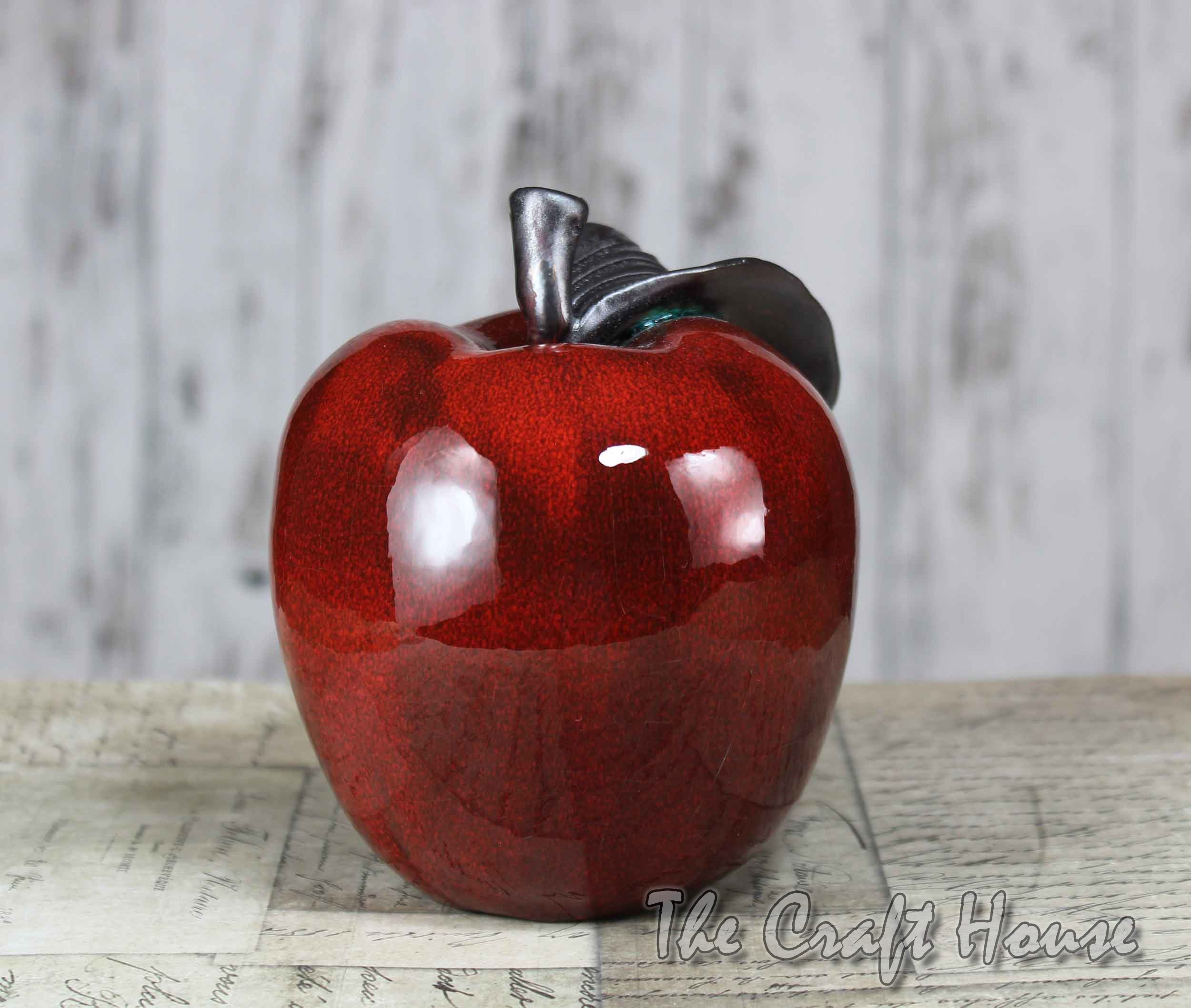 Ceramic apple