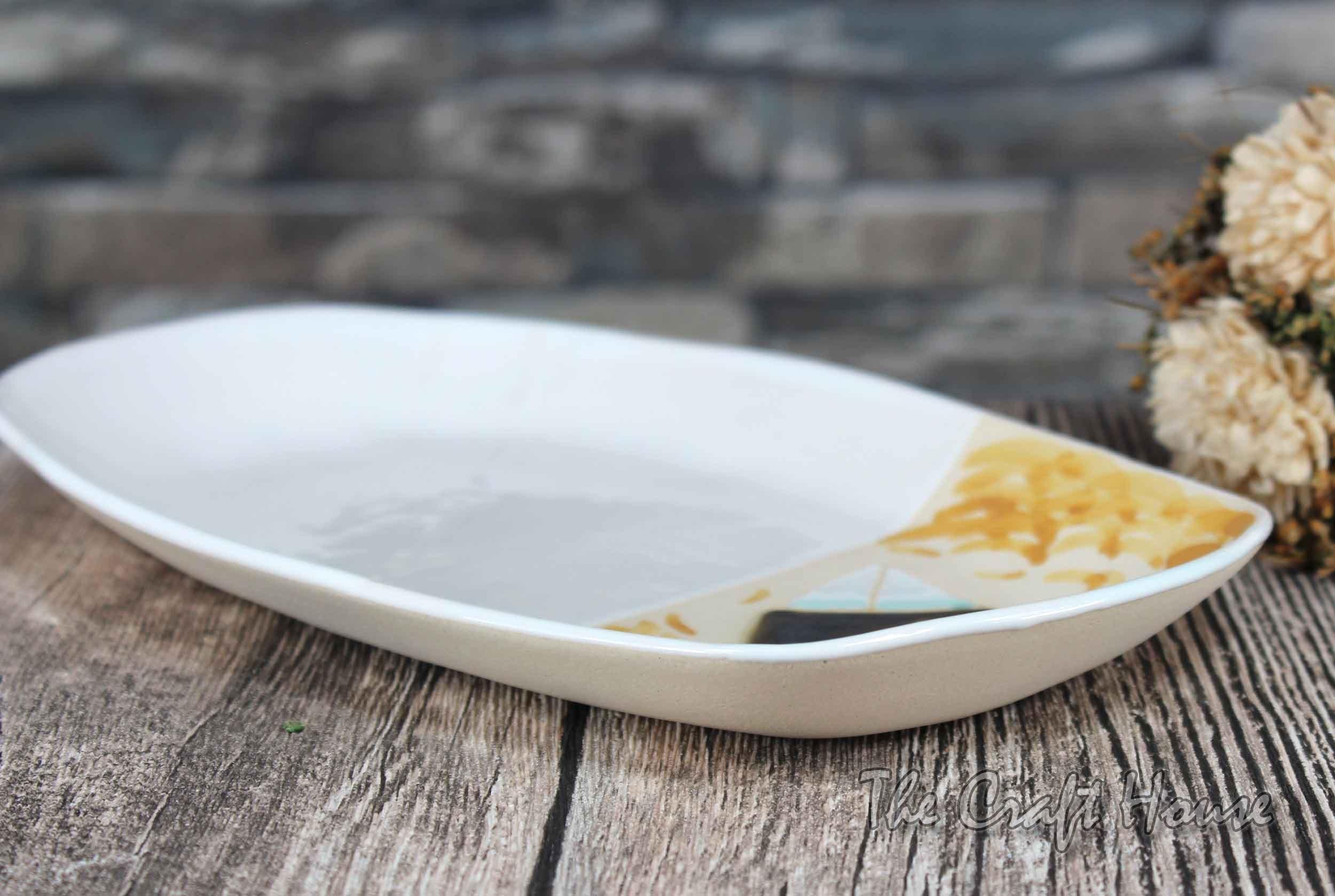 Керамична чинийка 'Пилета'