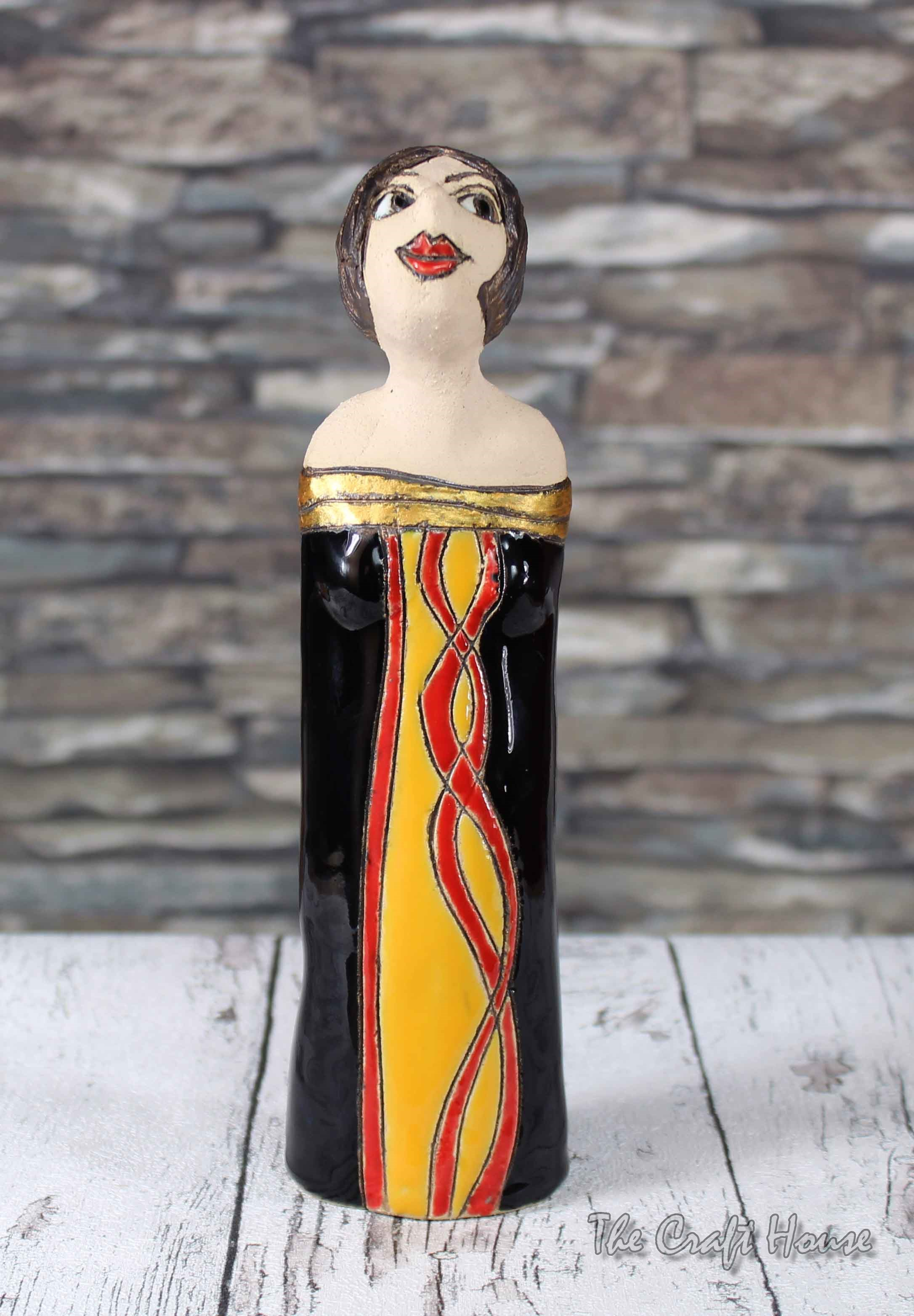 Керамична пластика 'Кукла '