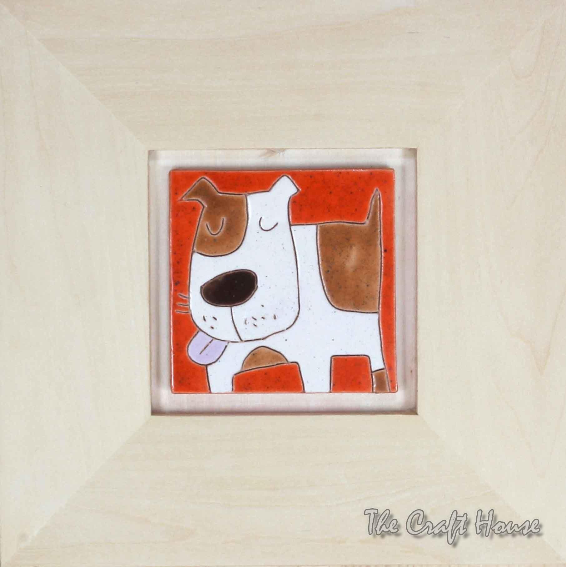 Керамично пано ' Куче '