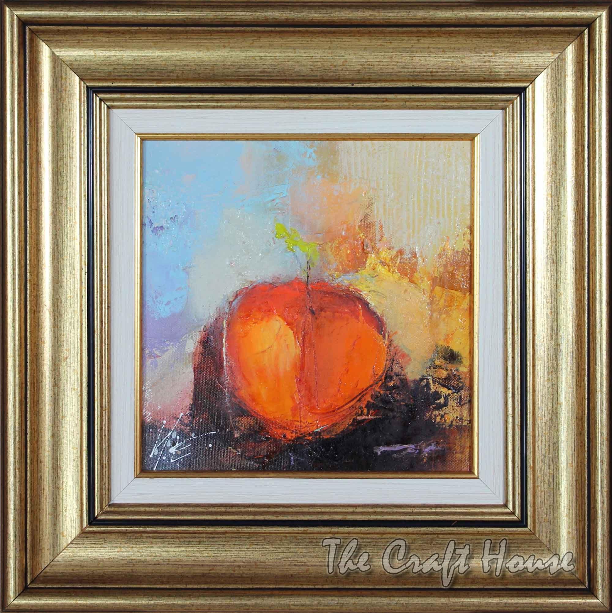 Натюрморт с ябълка