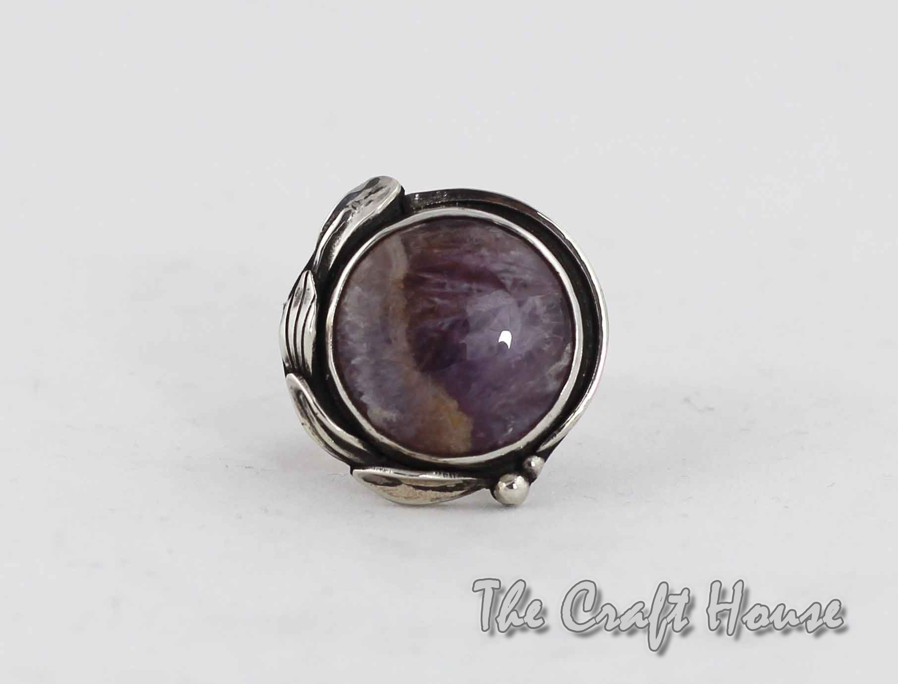 Silver ring Amethyst