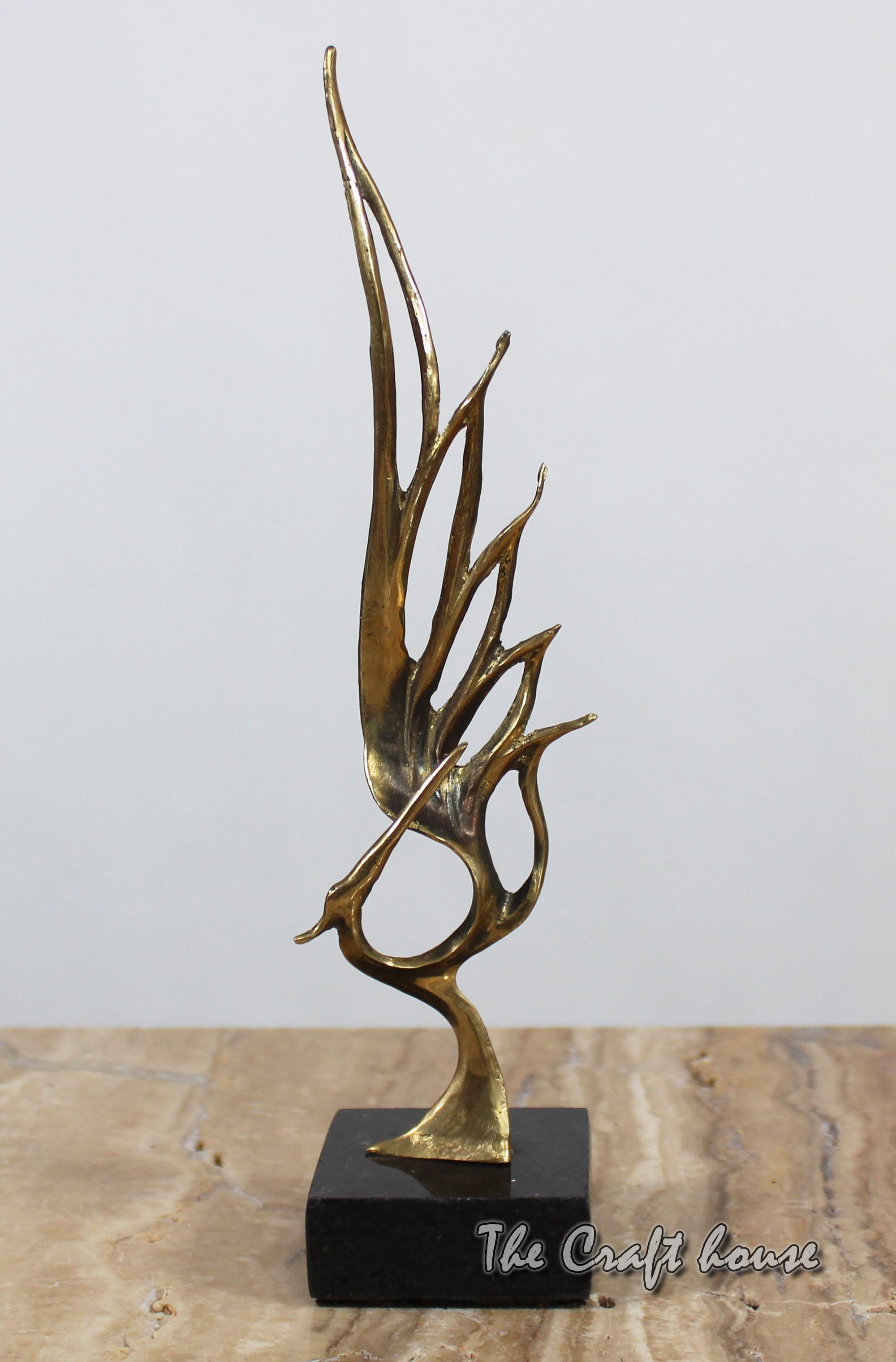 Bronze sculpture 'Phoenix'