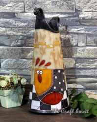 Керамична ваза 'Кокошка'