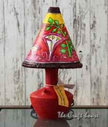 Керамична лампа 'Вечната градина'