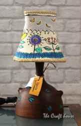Керамична нощна лампа 'Цветя'