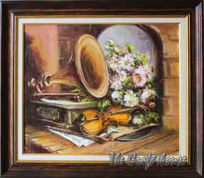 Still life with a Gramophone