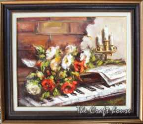 Still life with piano