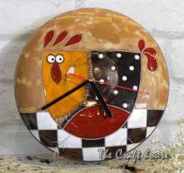 Часовник с кокошка