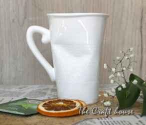Смачкана чаша за чай