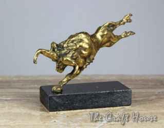 Bronze sculpture 'Bull'