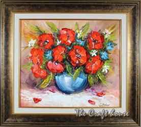 Букет с полски цветя
