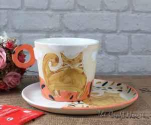 Керамичен комплект 'Котки'