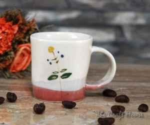 Чаша с рисунка от порцелан