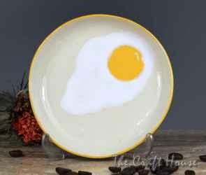 Ceramic sauser