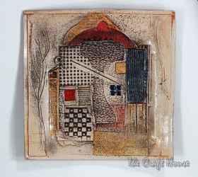 Декоративно керамично пано