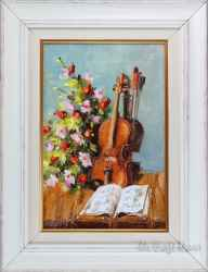 Натюрморт с цигулка