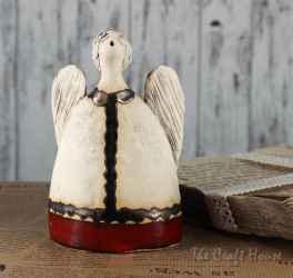 Ceramic sculpture 'Angel'