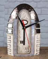 Керамичен часовник с отпечатък ключ