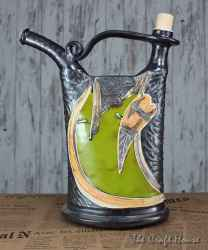 Ceramic alcohol pitcher