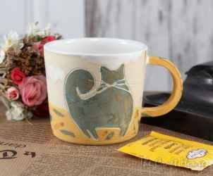 Керамична чаша 'Котки'