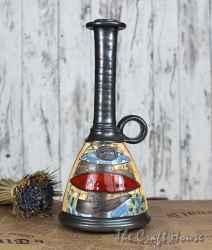 Керамична ваза - бутилка