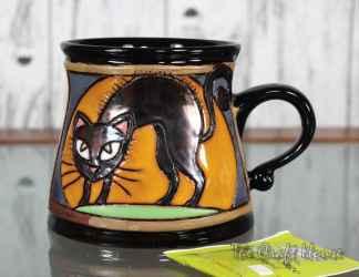 Керамична чаша 'Черна котка'