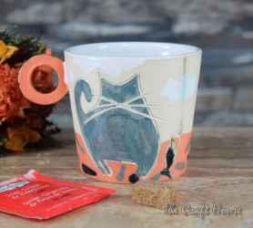 Ceramic cup 'Cats'
