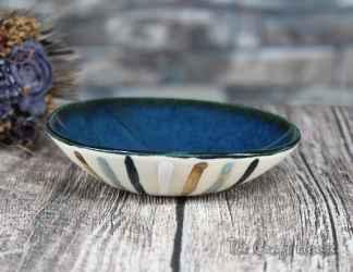 Ceramic saucer