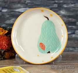 Ceramic saucer 'Pear'