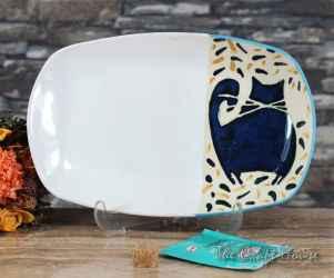 Ceramic plate 'Cats'