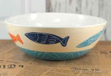 Керамична купа 'Fishes'