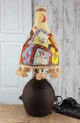Ceramic lamp' Persian cats '