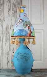 Ceramic lamp' Blessing '